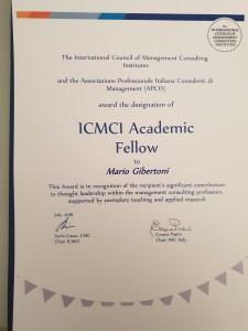 Mario Gibertoni ICMCI Academi Fellow
